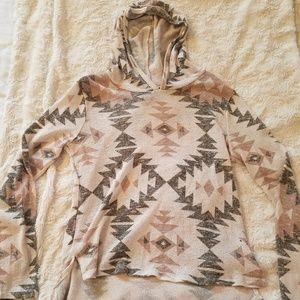 Sweaters - Tribal print sweater